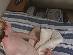 He picks up alacrity and strokes it fast until he splatters loads of fresh creamy cum all over himself male masturbation pic
