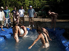 I mean its not embarrassing enough playing naked in a nasty fake pool male porn stars yahoo groups