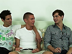 All three boys did well and even though Derek is straight, he looked like he enjoyed himself as well free gay group sex pics