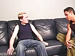 """Hey man, I indigence possibly I can fuck your butt"" said Ricky interracial gay sex porn"
