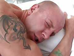 Joey is a pretty ripped dude that has a fat ass and loves getting his ass packed with big black salami free big cock gay movies