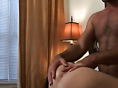 Gay rookie Luke came to us with his fantasy of being nailed by his favorite hung stud porn famed, so we obliged him past bringing over Parker and his