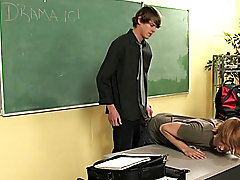 The guru doesn't let him go just yet all free gay twink cams at Teach Twinks