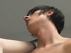 There's cock riding and missionary before they spill their thick loads and end the display with passionate kisses his first gay black sex i at Te