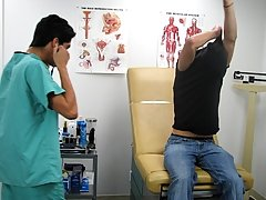 The Doc wasn't going to stop there he went to getting his pinky finger in as artistically physical exam fetish male