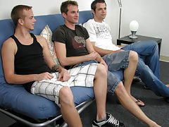 It was obvious that Shane was in some pain, telling Diesal to use more lube but even then, Diesal was forced to be slow and finicky gay group sex part