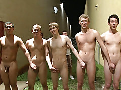 We chose this video to be among our winners because these frat boys had it all gay facial video group