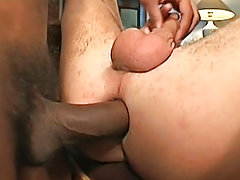 Filip just adores Sanches and the big black cock he has, between his dark skinned smooth thighs free male masturbation group