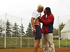 They instances spend time together to play their favorite game, like what happens in the beginning of this video gay outdoor fuck