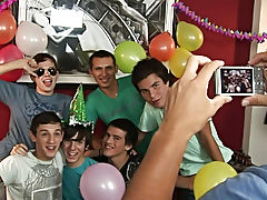 Happy birthday Julian, let's rock at your party young gay twink at Julian 18