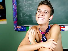 Dustin Revees loves shock value first young gay sex at Teach Twinks