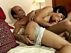 They begin to kiss and fondle and then the boy goes to work on his mature friend's hot cock naked pictures of young boy