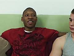 Today at Broke Straight Boys, we welcome back Jamal, our newest model interracial gay video hug