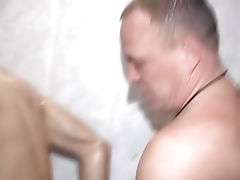 The cock slipped into the well-lubed orifice, and the real nonsense began amature gay bdsm dvd