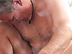 The relaxing touches and the exciting nudity are such a turn-on for the boy that he eagerly opens his sound for the masseur's tool very soon youn