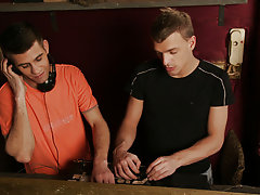 Rookie guys Kiko and Dominik are a couple of struggling DJ's who are about to turn more than just tables gay hunk sex thumbs