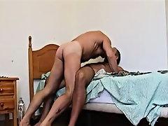 These two muscle bound hairy men love their foreplay nearly as much as the ass pounding and taste each others bodies fully before indulging in cock su