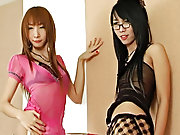 Two you girls play game with one boy :) shemale teens having group sex